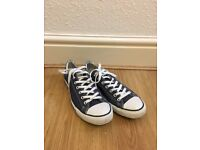 Navy Converse Size 11 - Good As New