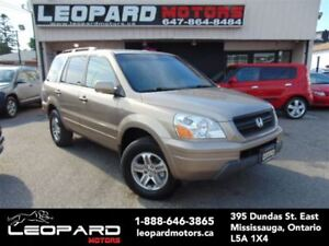 2003 Honda Pilot EX-L,Leather,8Passenger,Sunroof*No Accident*