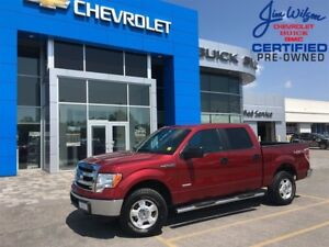 2013 Ford F-150 XLT 4X4 ECOBOOST WIN/LOCKS KEYLESS ALLOYS!!!
