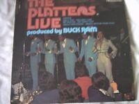 Vinyl LP The Platters Live Contour 6870 627 Stereo 1974