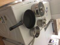 Set of 4 induction pans