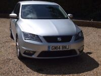 2014 Seat Toledo ECO SE 1.6 TDi, Only 22k Miles, Full Seat Warranty, 2 Private Owners - Stunning !