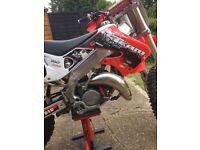 Honda cr125 motocross bike 2 stroke swap!?!?