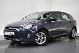 FORD FOCUS 1.6 ZETEC 5d AUTO 124 BHP (grey) 2013