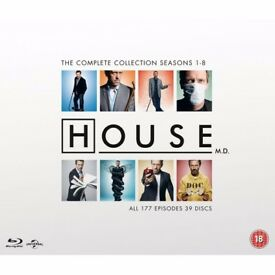 House md blu-ray complete boxset brand new & sealed