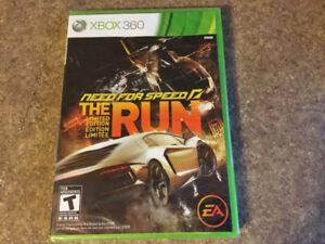 XBox 360 Need for speed The run -Limited edition