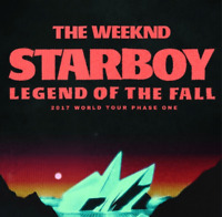 THE WEEKND TICKETS - September 9th at the Air Canada Centre
