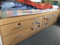 Cabin Bed 4 drawer 2 door