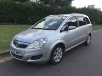 QUICK SALE - Vauxhall Zafira Estate (7 seater) 1.6 Design Petrol Manual 76k – Long MOT, lady owner
