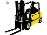 Wanted forklift