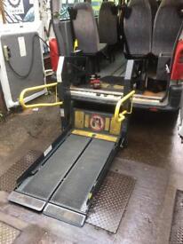 Wheel chair lift