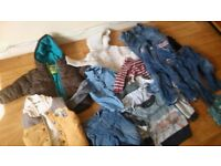 bundle of clothes for 1y-2y old boy