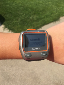 Garmin Forerunner 310XT watch + charging cable For Sale