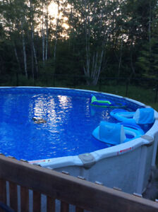 24 foot above ground pool for sale