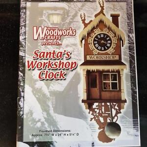 Woodworking Plans- Santa's Workshop Clock
