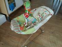Woodland animals vibrations and sound chair. VGC