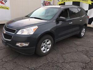 2011 Chevrolet Traverse LS, Automatic, Third Row Seating, 66,000