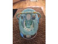 Baby bouncer & bath seat