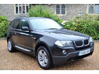 BMW X3 2.0d 2007 SE, 54K MILES, NEW MOT, 1+ DEMO OWNER FULL S/HISTORY