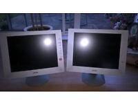 2 x Sony LCD monitors