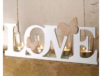 Butterfly Love Candle Holder