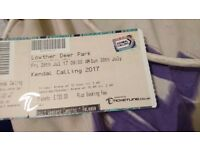 Kendal calling ticket pick up at festival