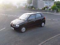 Suzuki Alto GL 5 door, 1061 cc, 39500 miles