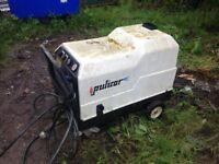 Steam jet washer