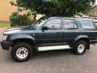 Toyota 4-RUNNER 3.0 V6 5dr 4 By 4 Power Full Car @07445775115@