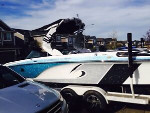 2015 centurion fs33 with quick surf