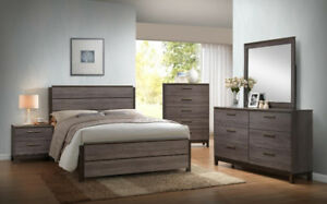 Brand new langley bed frame on sale for $278+FREE SETUP+DELIVERY