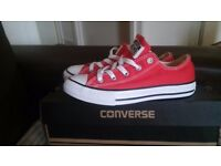 Brand new Converse Red size 2