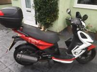Kymco Super 8 2014 49cc derestricted and low mileage!