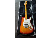 Fender Partscaster - electric guitar and hardcase