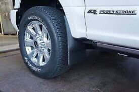 Husky mud flaps for 2017 ford superduty
