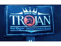 Unisex Black / Orange / White / 'Trojan Records' Polo Shirt *£25.00 - Medium
