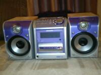 Lovely purple n silver hi-fi