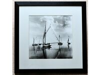 Den Phillips Framed Print - Yacht Reflections