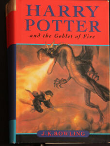 HARRY POTTER AND THE GOBLET OF FIRE J.K. ROWLING AS NEW