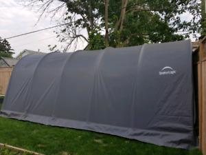garage shelter logic 12x20