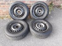 ford connect 2013 x 4 steel rims and tyres
