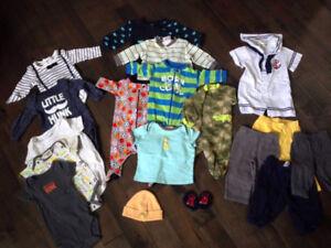 Vêtements bébé garçon 0-6 mois