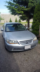 2002 Honda Accord EXw/Leather Sedan