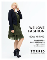 NOW HIRING STORE MANAGEMENT AND SALES ASSOCIATES FOR NEW STORE!