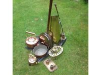 Brass and Copperware