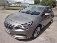 LHD 2016 Opel Astra 1.6 Diesel CDTI 5 Door UK REGISTERED