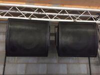 CVA OV 15/2 DC coaxials,D&B audiotechnik MAX15 copies,over £2000 when new,pair
