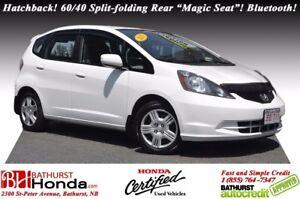 "2013 Honda Fit LX Hatchback! 60/40 Split-folding Rear ""Magic Sea"