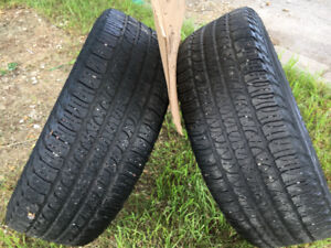 17 inch Goodyear used tires