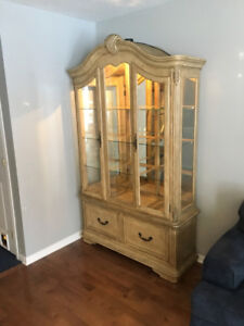 China Cabinet Hutch In Great Condition!!!